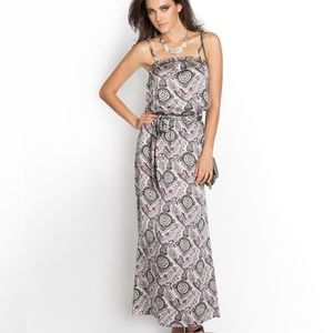 NEW GUESS Summer Paisley-Printed Dress SZ M